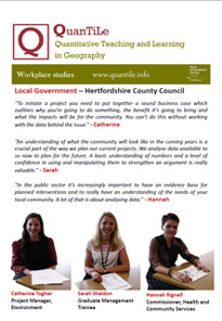 Hertfordshire County Council poster